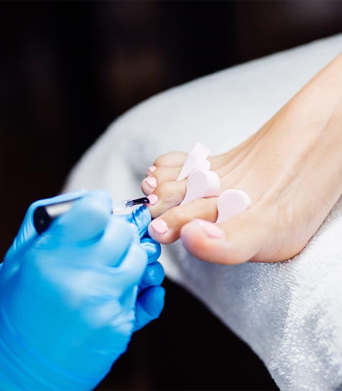 soins esthétiques des pieds